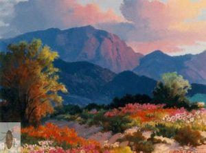 00671 Tamarack and Flowers 8 x 10 (400)