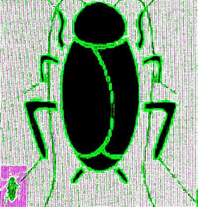#GK001.3j Stinkbug #3 2012 (400) B