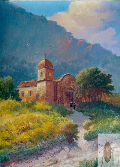 01077 The Old Church 14 x 11 (400)
