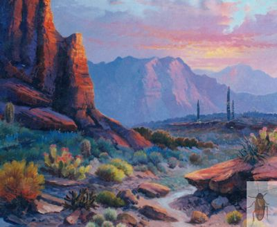 01092 Cactus Country 20 x 24 (400)
