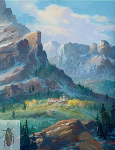 1076 Mountain Village 14 x 11 (400)