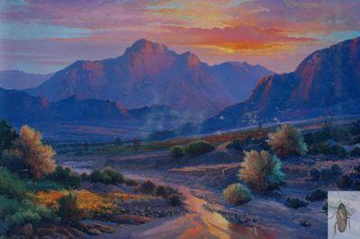 1082 Sunset Rhapsody 24 x 36 (400)