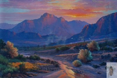 1082 Sunset Rhapsody 24 x 36 (400)