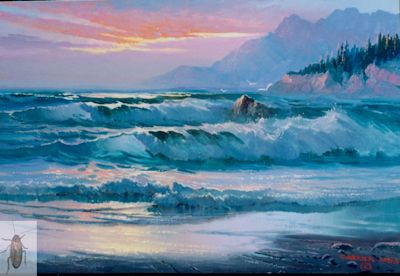 1091 Sea Spray 12 x 16 (400)