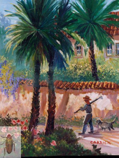 1145 Las Palmas Gardener 10 x 8 (400)