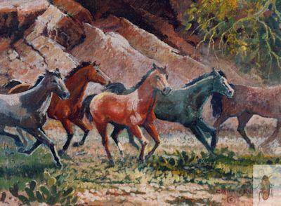 1147 Mustang Run 8 x 10 (400)