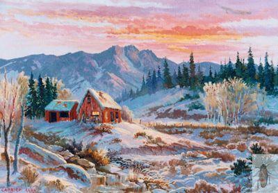 1158 Snow Days 12 x 16 (400)