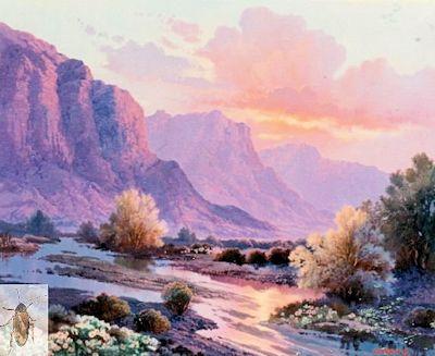 00001 Pink Evening 20 x 24 (400)