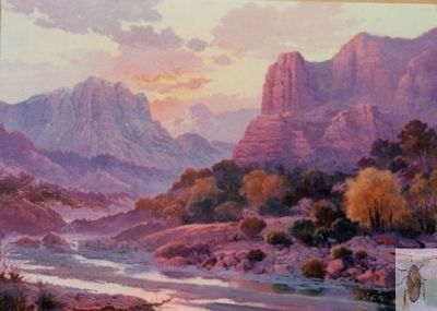 00016 Evening in Red Rock Country 20 x 24 (400)