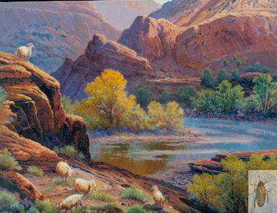 1165 Canyon de Chelly 20 x 24 (400)