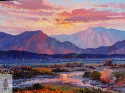 1175 Poppy Sunset 9 x 12 (400)