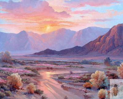 1180 Softly Evening 24 x 30 (400)