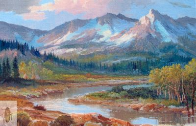 1191 Mountain Morning 12 x 16 (400)