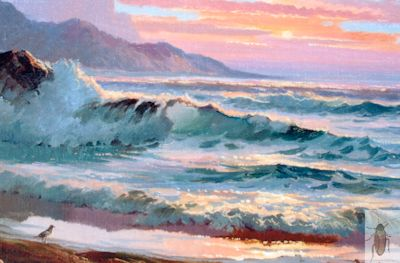 1199 Sunset Shore 11 x 14 (400)