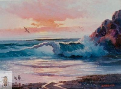 00040 The Gulls of Evening 12 x 16 (400)