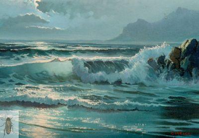 00041 Moonlight Sea 12 x 16 (400)