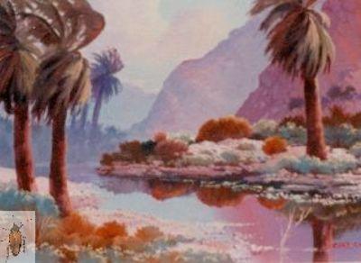 00043 Desert Palms 9 x 12 (400)