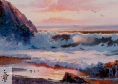 00050 Sunset and Sea 8 x 10 (400)