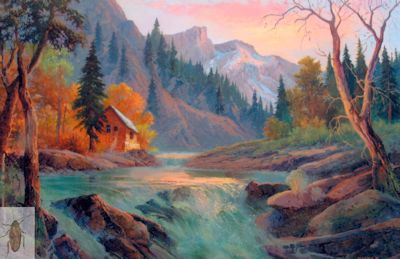 01204 American River 24 x 36 (400)