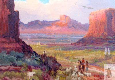 1201 Navajo Land 8 x 10 (400)