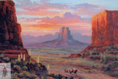 1211 Through Monument Valley 16 x 20 (400)