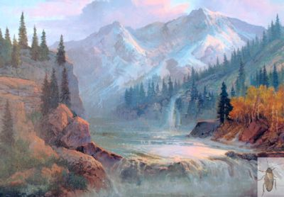 1221 Mountain Idyll 16 x 20 (400)