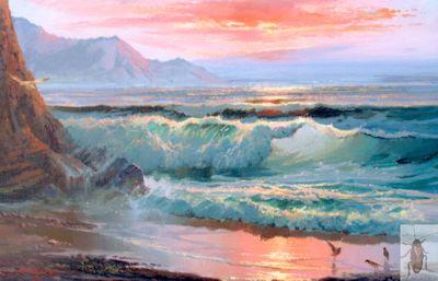 1224 Coastal Gulls 12 x 16 (400)