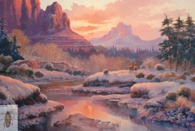 00063 Winter in Sedona 24 x 36 (400)