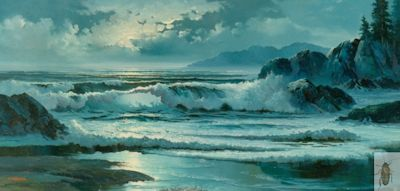 00072 California Moonlight 24 x 48 (400)