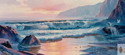 00076 Evening Surf 24 x 48 (400)