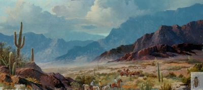00077 Arizona Horizons 24 x 48 (400)