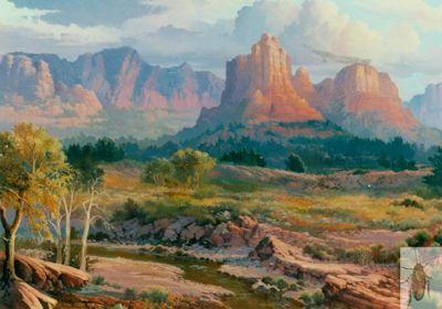 00085 Red Rock Splendor 36 x 48 (400)