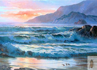 01253 Dreamy Shore 16 x 20 (400)