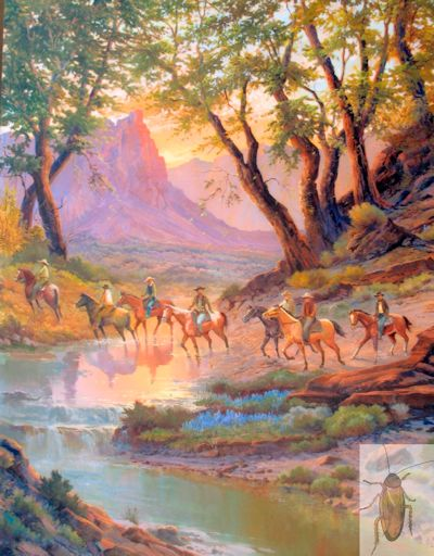 1235 Posse from Deadwood 48 x 36 (400)