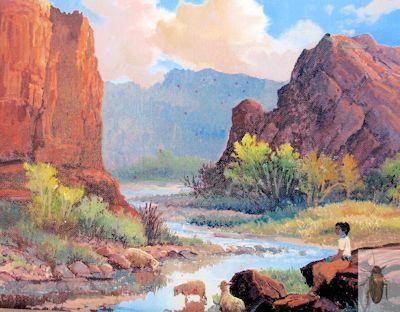 1251 Navajo Girl 8 x 10 (400)