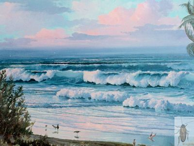 00111 The Surging Surf 30 x 40 (400)