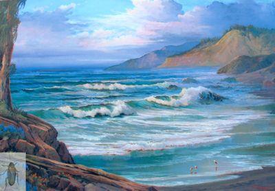 01261 Cambria Coast 24 x 36 (400)