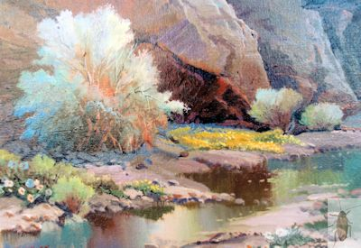 01266 Smoke Tree Wash 8 x 10 (400)