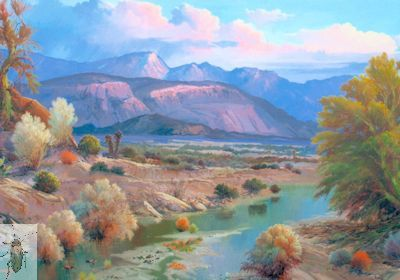 01273 Palo Verde Creek 24 x 36 (400)