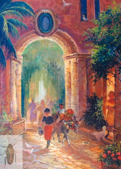 01276 Water Carriers 16 x 12 (400)