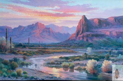 1087 Desert Vista 24 x 36 (400)