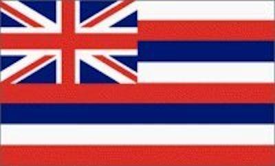 #LP0001.3c Hawaii Flag 05-05-2019 (400)
