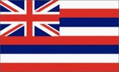 #LP0001.3c Hawaii Flag 05-05-2019 (400)