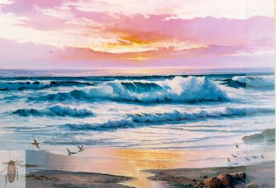 00123 The Luminous Shore 36 x 48 (400)