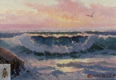 00141 Sunset and Sea 5 x 7 (400)