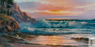 00142 Where the Pines meet the Sea 24 x 48 (400)