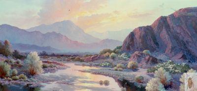 00147 Sunset Valley 24 x 48 (400)