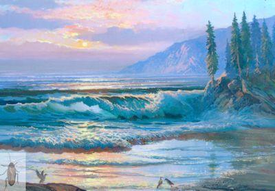 01285 California Coast 16 x 20 (400)