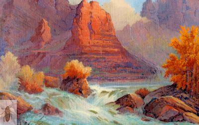 01299 Canyon Rapids 12 x 16 (400)