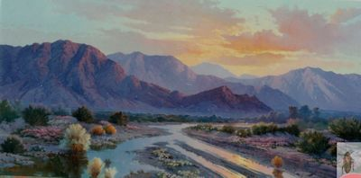 00151 The Sunset Sky 24 x 48 (400)